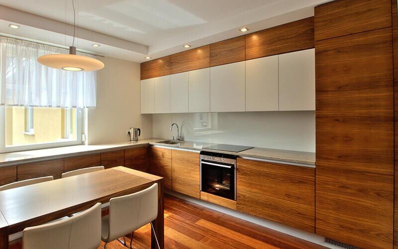 Suelos de interior de cocinas y ba os suelos de madera - Suelos para cocinas rusticas ...