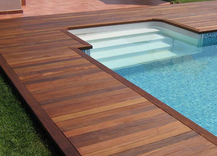 Suelos de exterior de madera suelos de madera puertas - Maderas tropicales para exterior ...